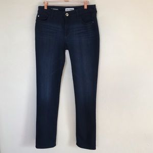 DL1961 Nicky Mid Rise Cigarette Jeans, Size 30